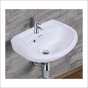 Plain White Wash Basin
