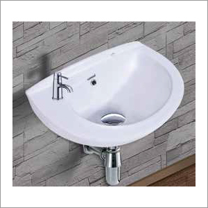 Regular Indian Wall Mounted Wash Basin