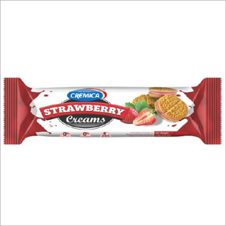 Premium Cream Strawberry Cookies