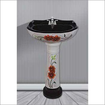 Designer Vitrosa Pedestal Wash Basin