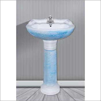 Water Drop Pedestal Basin
