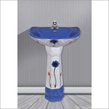 Pedestal Printed Hand Wash Basins