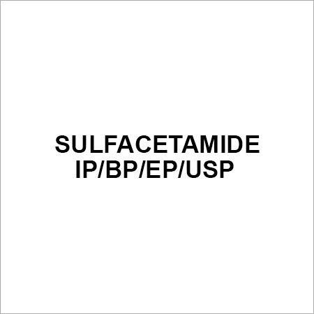 Sulfacetamide IP BP EP USP