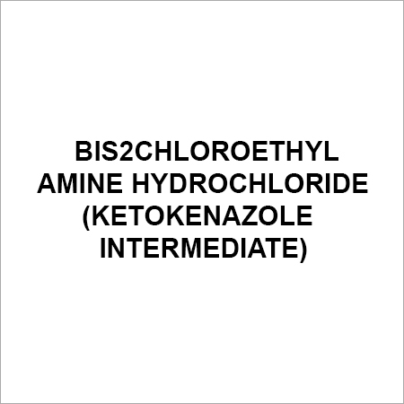 Bis2Chloroethyl Amine Hydrochloride (ketokenazole Intermediate)