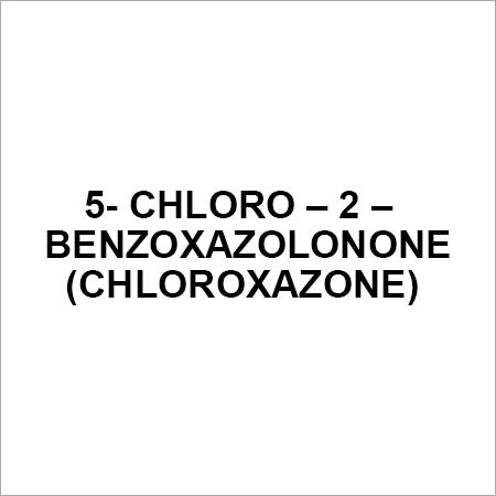 5- Chloro  2 Benzoxazolonone (CHLOROXAZONE)