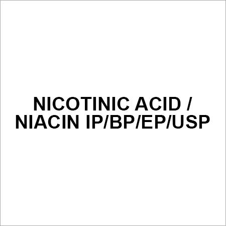 NICOTINIC ACID NIACIN IP BP EP USP