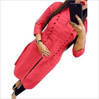 fancy cotton selfi kurti