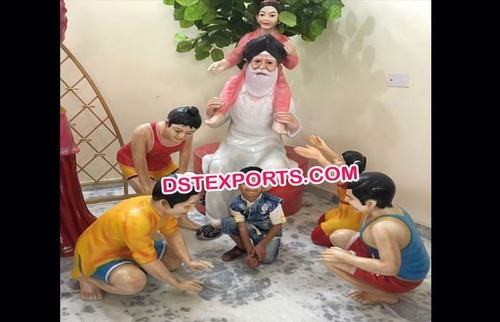 Punjabi Culture Statues