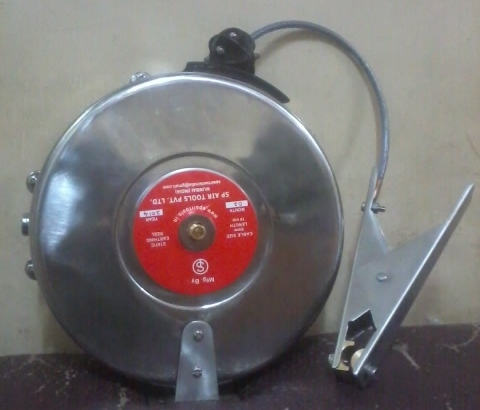 Static Discharge Grounding Reel