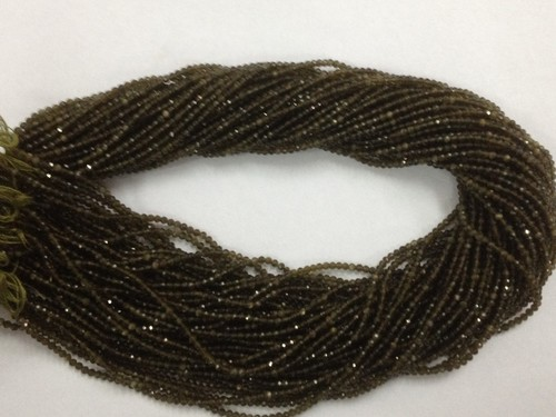 Cat'seye Micro Faceted Beads