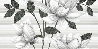 FLOWER DESIGNED WALL TILES