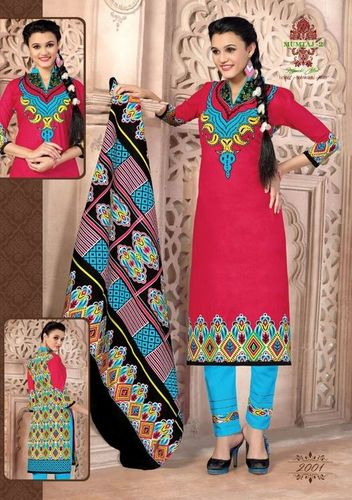 Fancy Exclusive Cotton Dress Material