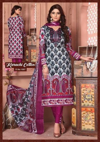 Cotton Dress Materials for women