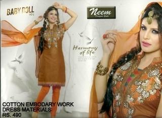Fancy Imported Schiffon Dress fabrics