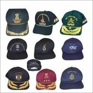 Embroidered Cap Peaks