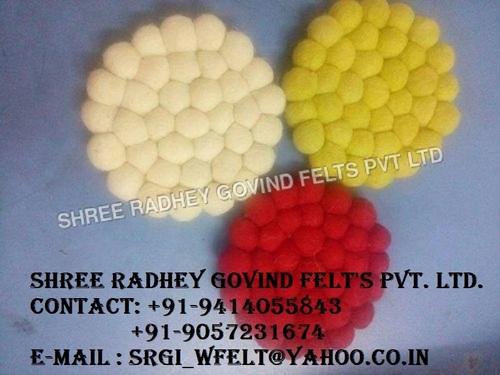 Pure Wool Ball Coaster