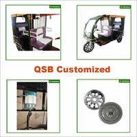 1000w Gear Shift Electric Rickshaw