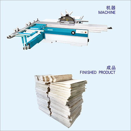 Precision Sliding Table Saw Machine