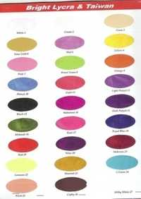 Colour Shad cards