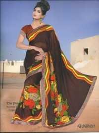 Printed Shiffon Sarees