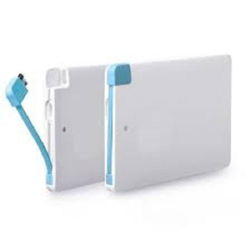 New Slim 4K White Power Bank