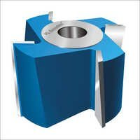 Helix Angle T.C.T Planing Cutter Head