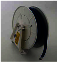 Single Stand SS Oil Hose Reel