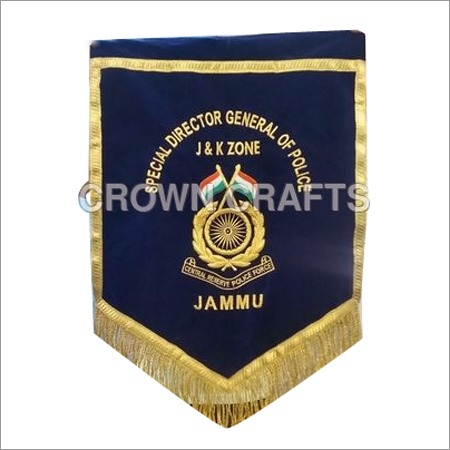 Police Embroidery Banner