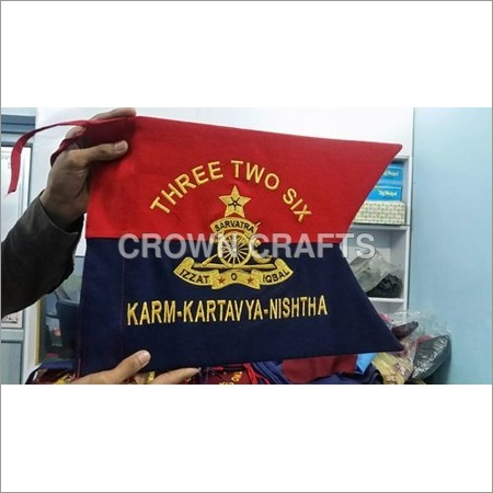 Embroidery Flag Banner