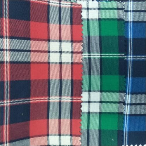 Cotton Checks Shirt Fabrics
