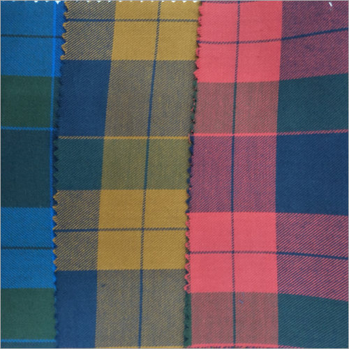 Cotton Checks Handloom Fabrics