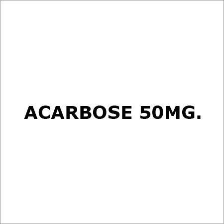 Acarbose 50Mg.