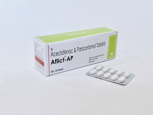 Aceclofenac 100 Mg Or Paracetamol 500 Mg