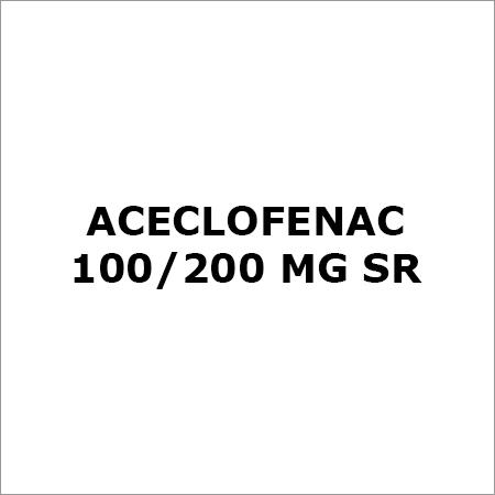 Aceclofenac 100-200 Mg SR
