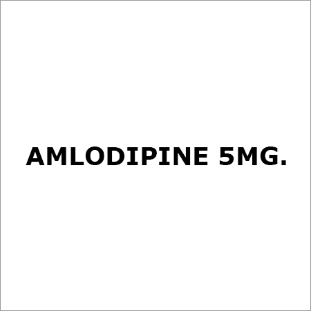 Amlodipine 5Mg.