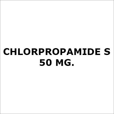 Chlorpropamide S 50 Mg.