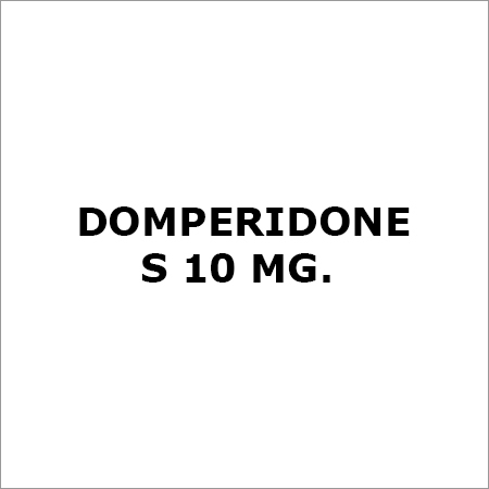 Domperidone S 10 Mg.