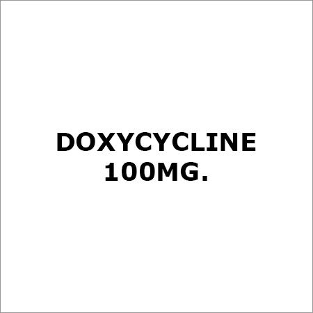 Doxycycline 100Mg.
