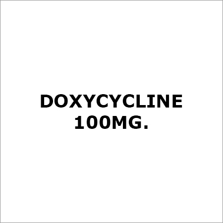 Doxycycline 100Mg.