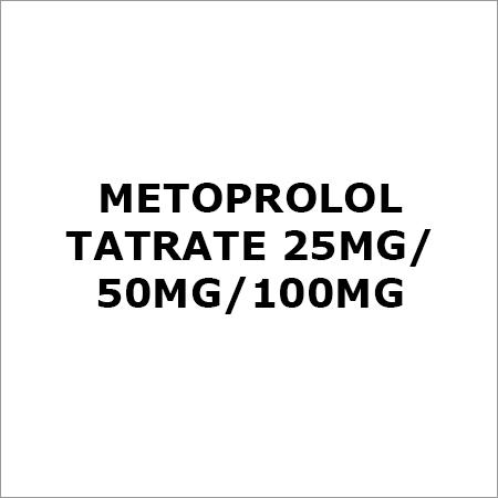 Metoprolol Tatrate 25Mg-50Mg-100Mg