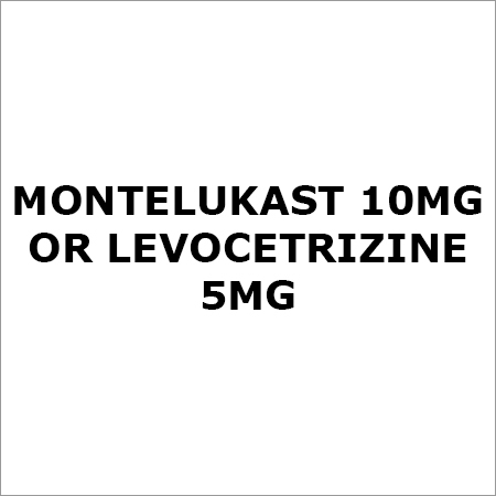 Montelukast 10Mg Or Levocetrizine 5Mg