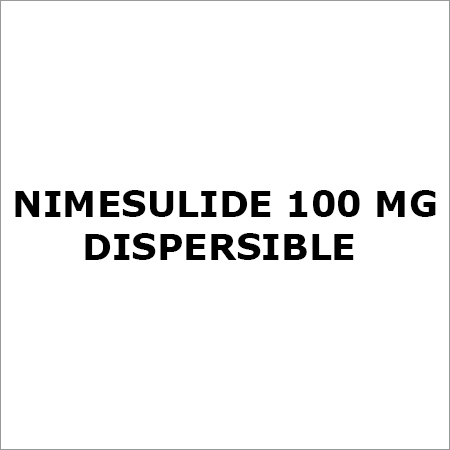 Nimesulide 100 Mg Dispersible