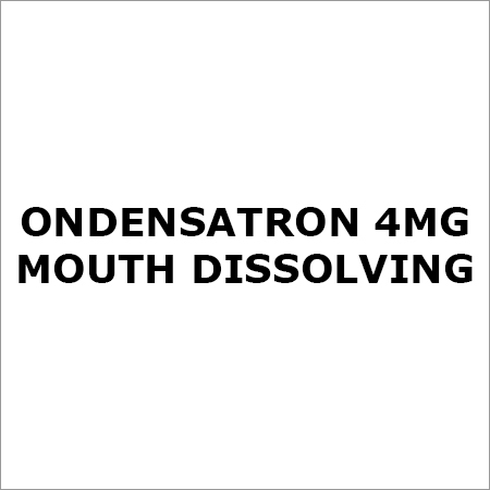 Ondensatron 4Mg Mouth Dissolving