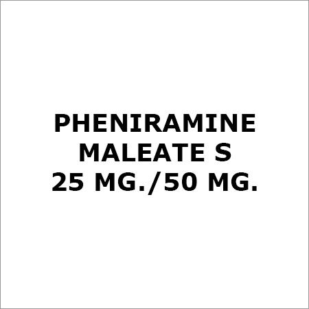 Pheniramine Maleate S 25 Mg.-50 Mg.