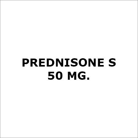 Prednisone S 50 Mg.