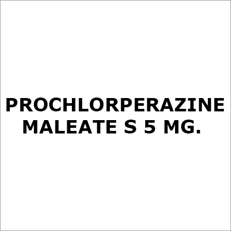 Prochlorperazine Maleate S 5 Mg.