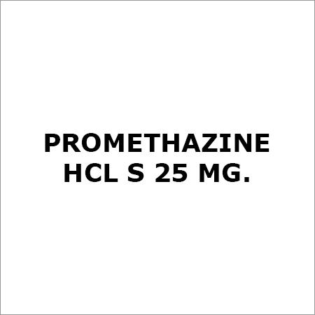 Promethazine Hcl S 25 Mg.