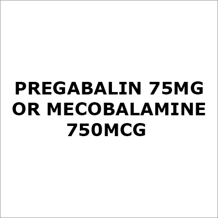 Pregabalin 75Mg Or Mecobalamine 750Mcg