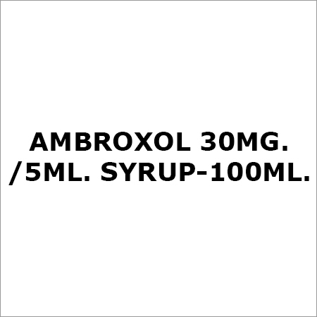 Ambroxol 30Mg.-5ML. Syrup-100ML.