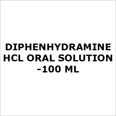 Diphenhydramine HCL Oral Solution-100 ML
